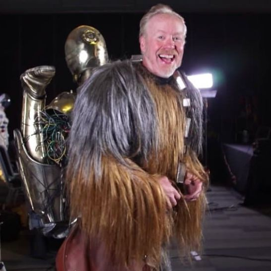 Adam Savage Chewbacca