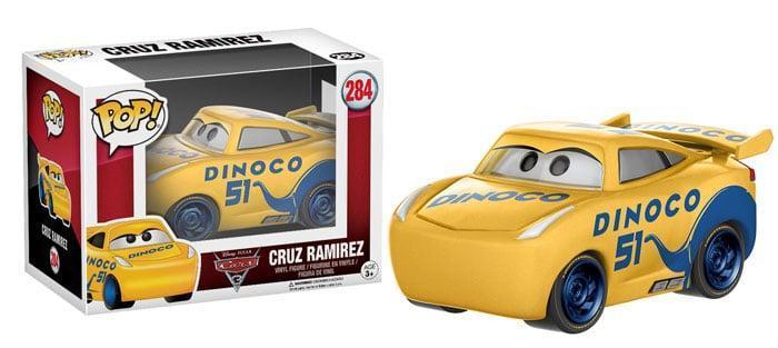 Funko Pop di Cars 3
