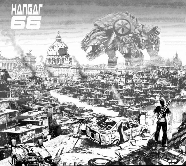 fumetti hangar 566 max bertolini