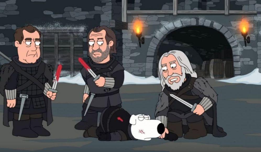 I Griffin parodia a tema Game of Thrones