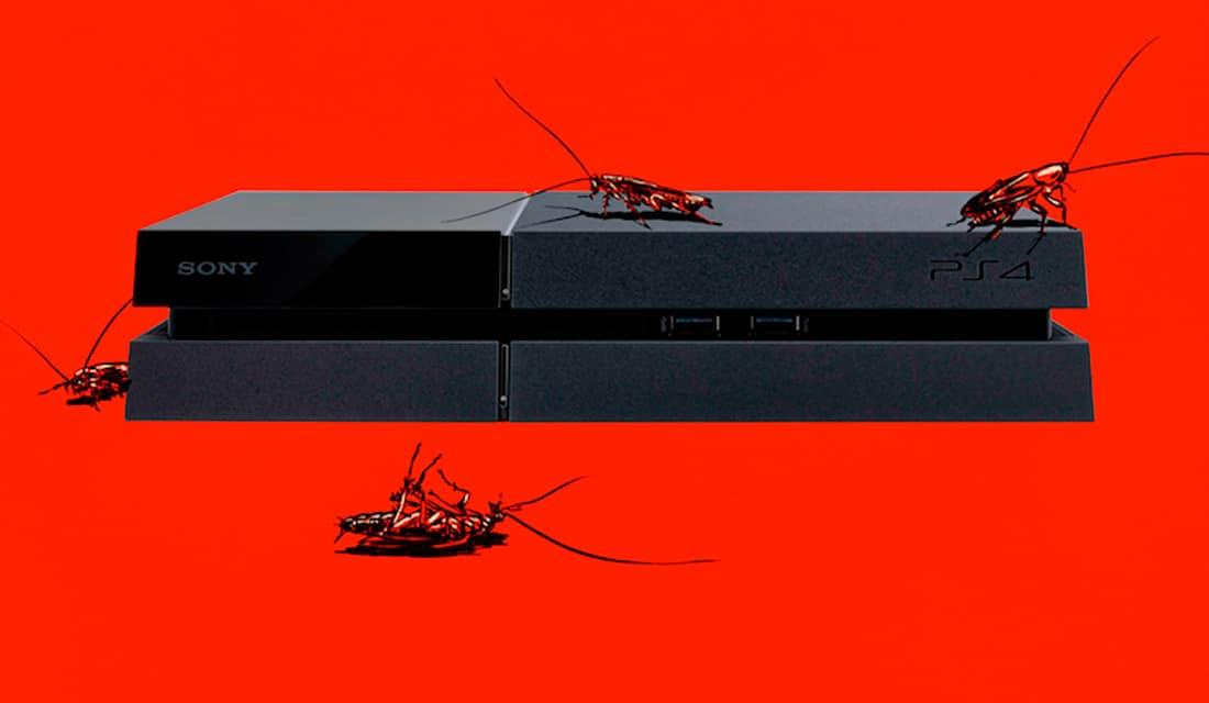 PlayStation 4 scarafaggi