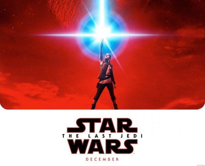 poster ufficiale di Star Wars: Gli Ultimi Jedi