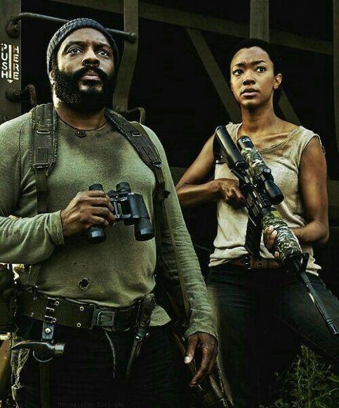 Sasha The Walking Dead 3