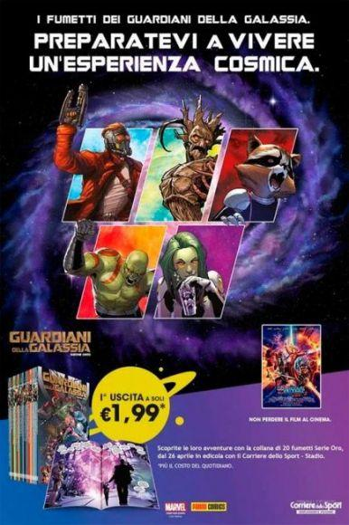 Guardiani della Galassia Serie Oro