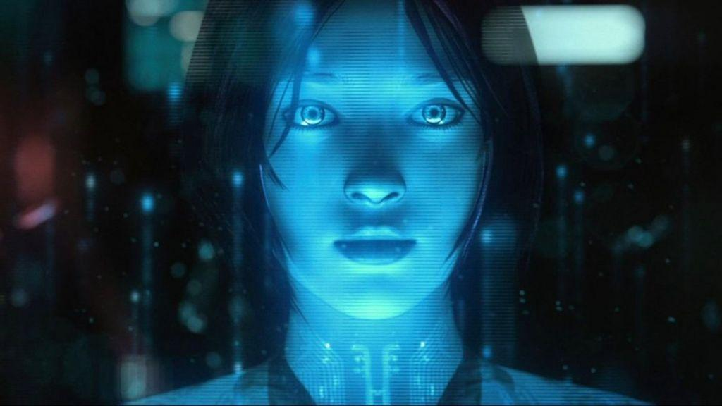 ologramma di Cortana