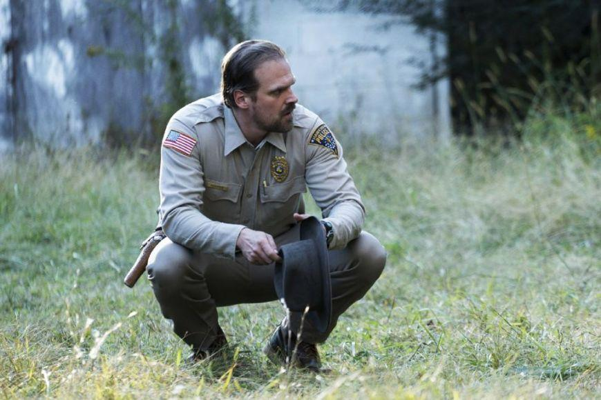 Stranger Things Jim Hopper David Harbour