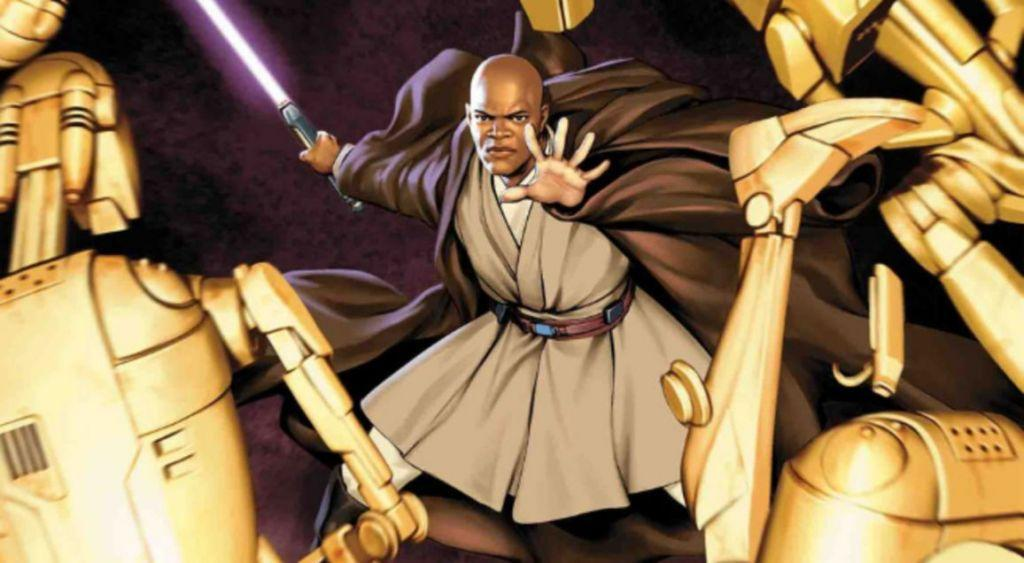 Mace Windu Marvel Comics