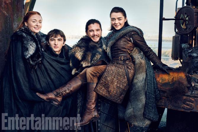 Il Trono di Spade: tante nuove foto della settima stagione!