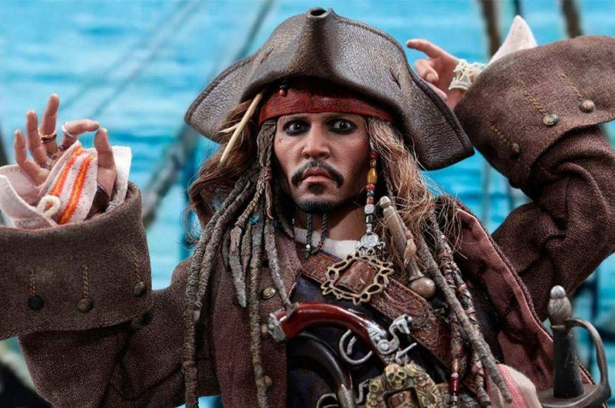 Jack Sparrow action figure Sideshow Collectibles