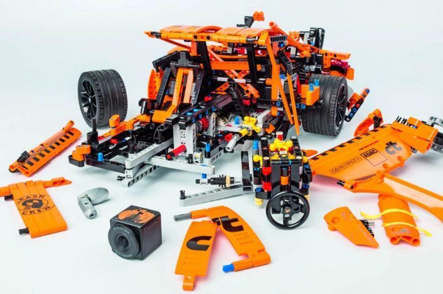 Porsche LEGO crash test