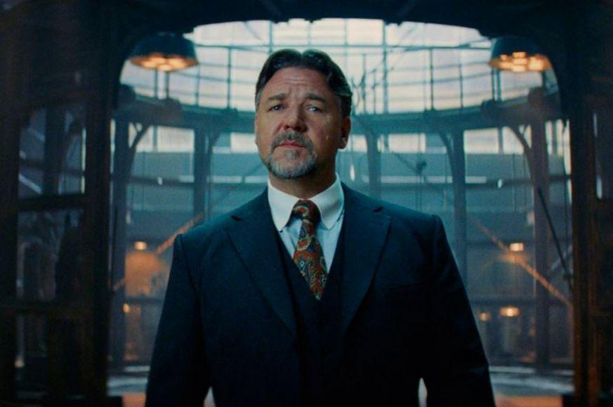 Russell Crowe dr. Jekyll La Mummia