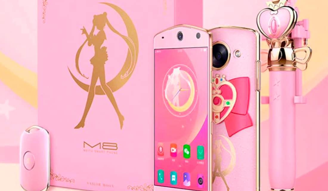 Sailor Moon smartphone meitu