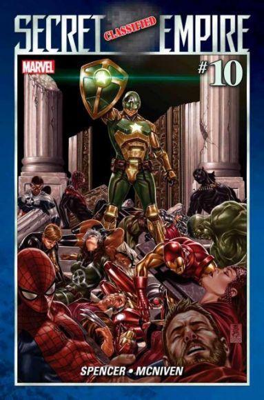 secret empire 10 Captain Hydra