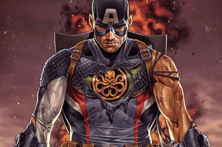 Secret Empire Captain America