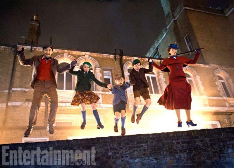 Mary Poppins Returns: Emily Blunt e Lin-Manuel Miranda a Buckingham Palace