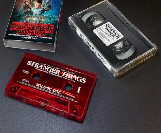 Stranger Things colonna sonora audiocassetta