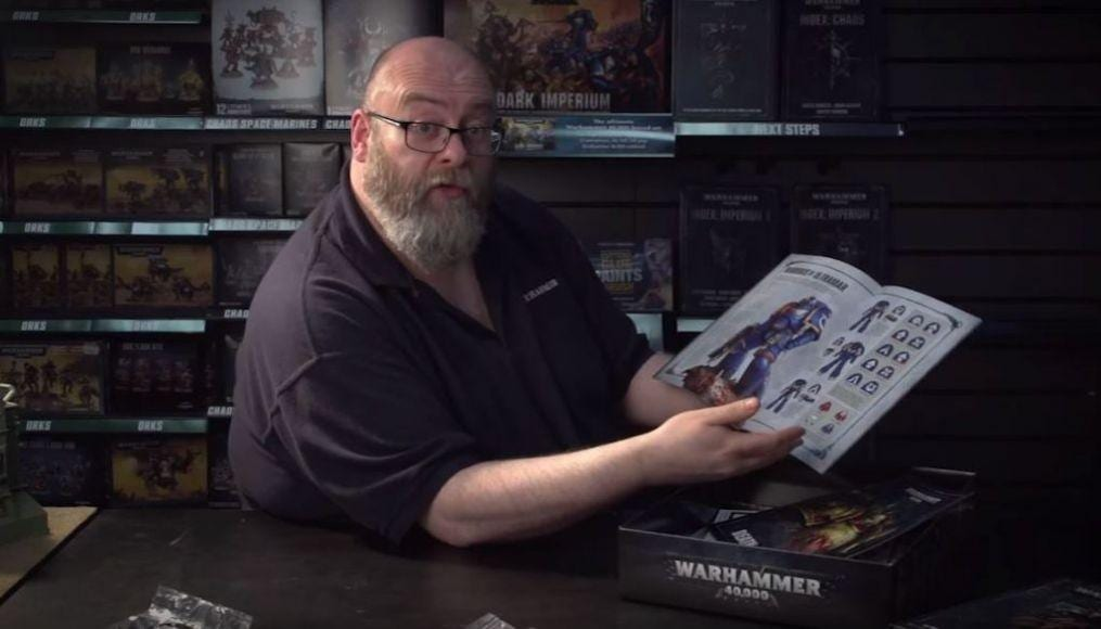 Warhammer 40000 Unboxing