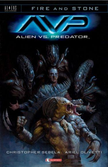 fire and stone alien vs predatore saldapress