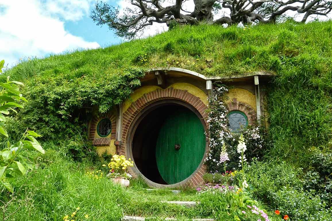 vacanza nerd hobbit house