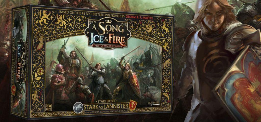gioco di miniature di Game of Thrones