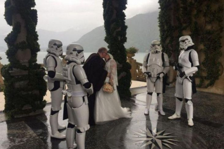 Matrimonio a tema Star Wars