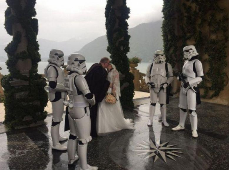 Matrimonio a tema Star Wars