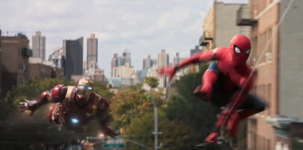 spider-man: Homecoming iron man spider-man