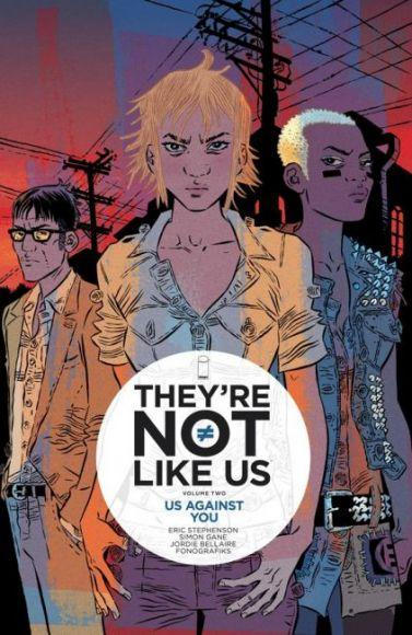 they are not lilke us 2 copertina