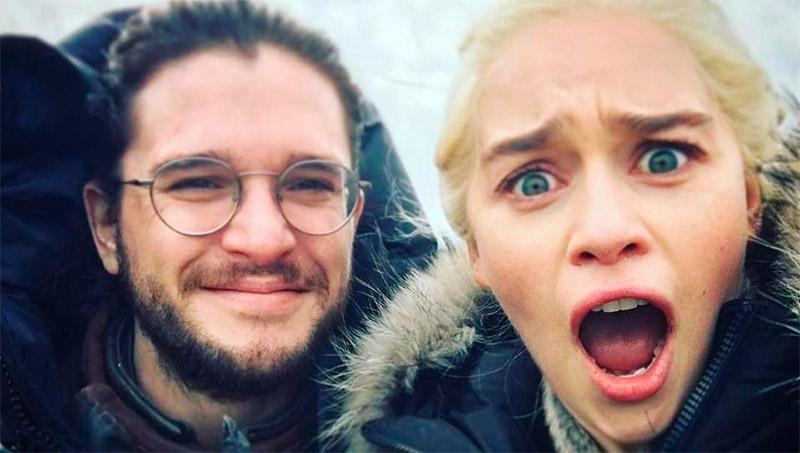 Game of Thrones Jon e Daenerys