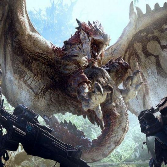 hunting games Monster Hunter World