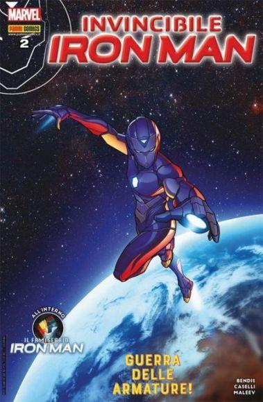 invincibile iron man 2 copertina