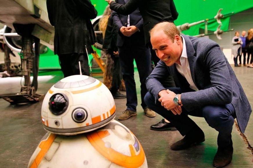 Gli Ultimi Jedi principe William
