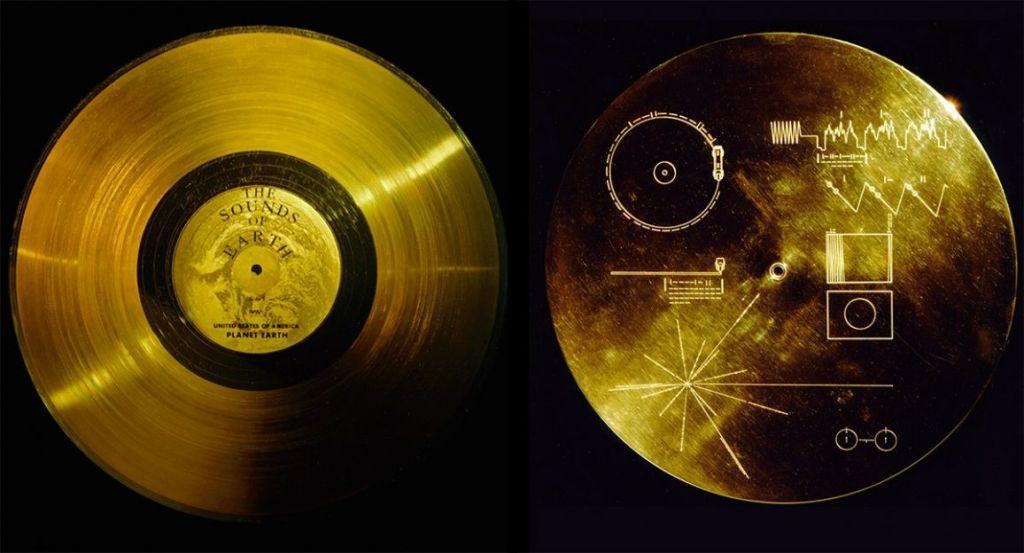 voyager 2 disco d'oro