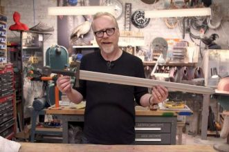 Spada in foam Adam Savage
