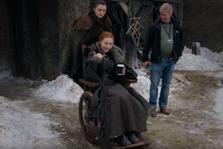 Game of Thrones Arya e Sansa