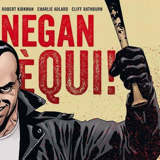 Negan è qui The Walking Dead