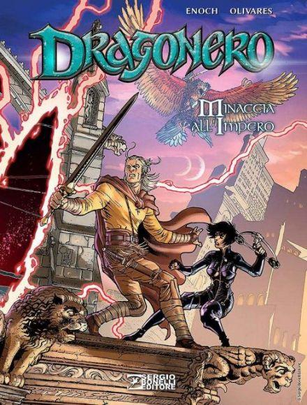 dragonero minaccia all'impero copertina