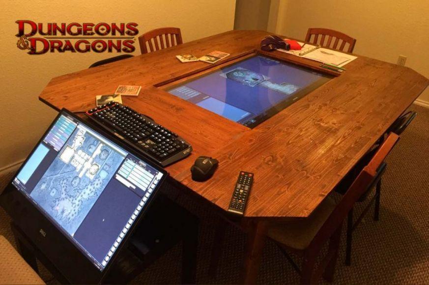 Dungeons and dragons un fantastico tavolo per giocare in 4k - Dungeon gioco da tavolo ...
