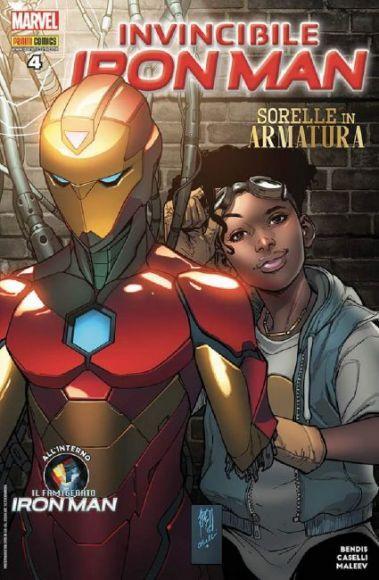 invincibile iron man 4 copertina