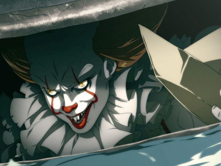 3fb65a844d0a ... è riuscito a trasporre il volto diabolico di Pennywise in versione  manga con un risultato davvero stupefacente