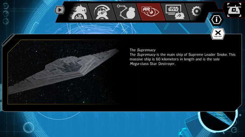 star wars astronave snoke