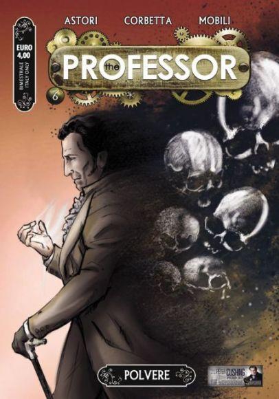 the professor 6 copertina