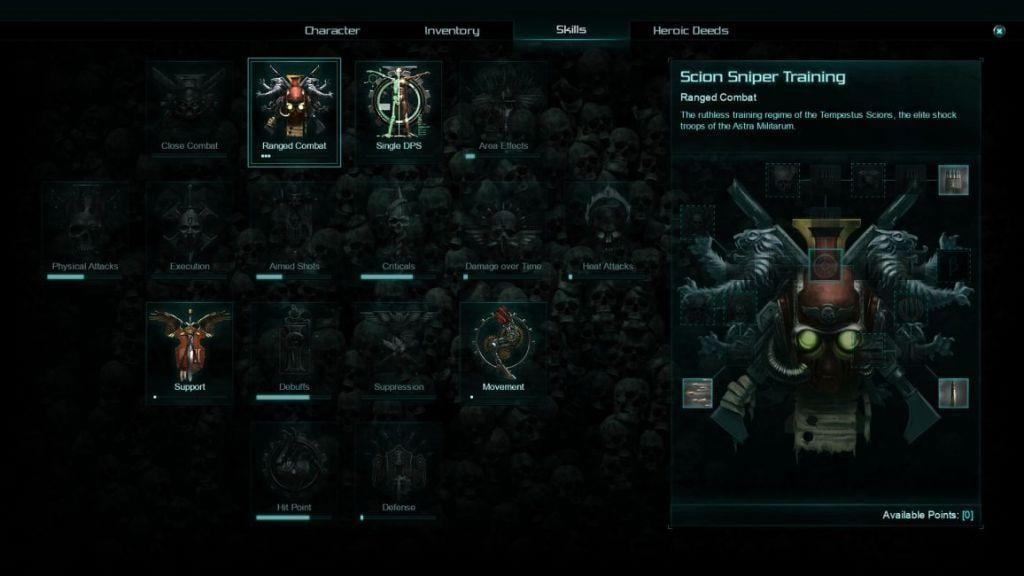 warhammer 40k inquisitor martyr skills