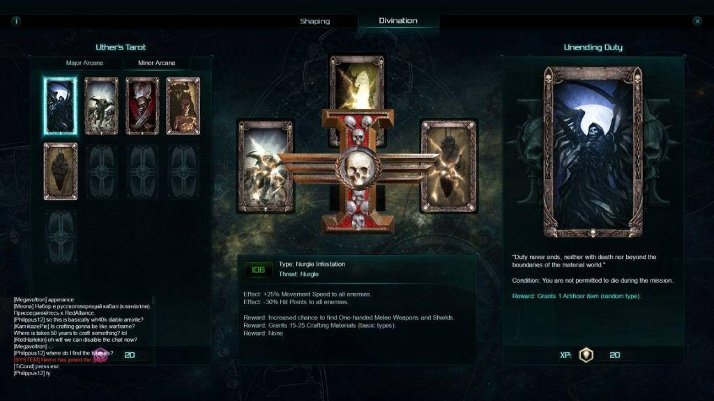 warhammer 40k inquisitor martyr tarocchi