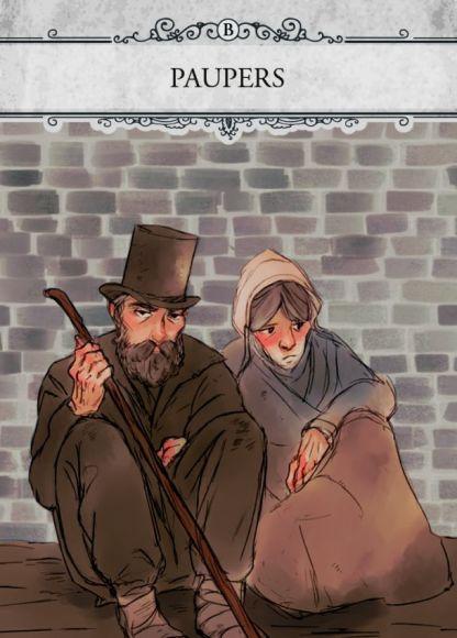 London seconda edizione, carta poveri