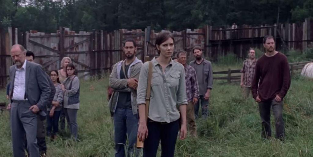 Maggie The Walking Dead 8