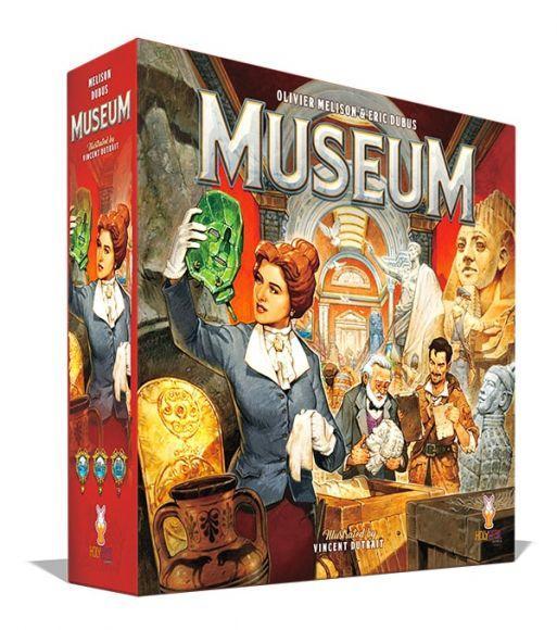 Museum Scatola gioco da tavolo