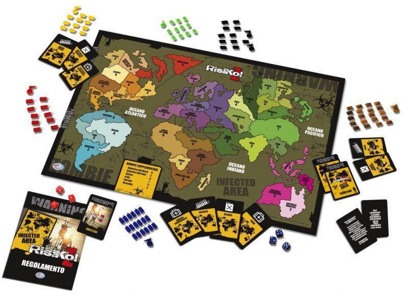 Risiko z disponibile la nuova versione a tema zombie del - Zombie side gioco da tavolo ...