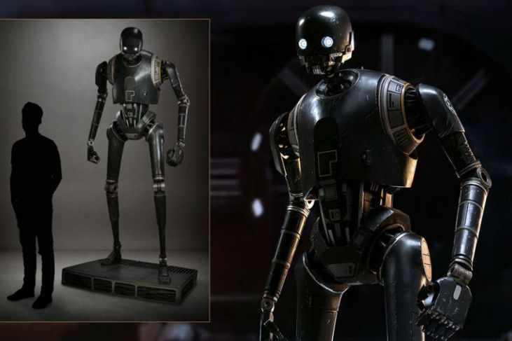 Star Wars Rogue One K-2SO grandezza naturale