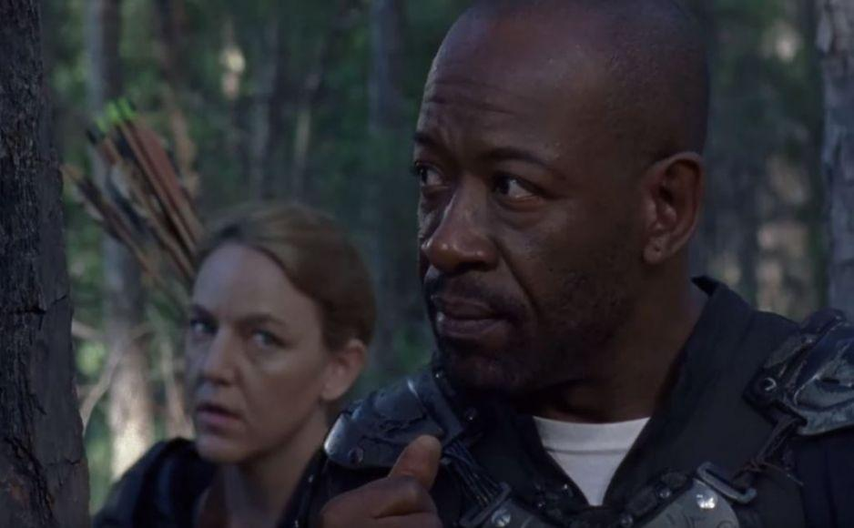 The Walking Dead 8 x02 Morgan